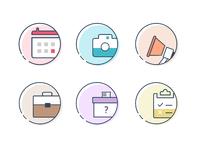Productivity icons 3x