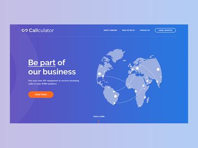 Callculator webapp