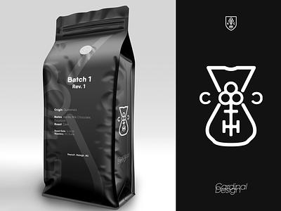 Coffeecult - Coffee-inspired Keycult Logo Redesign minimal minimalist flat testing mockup vector keycult logo coffee