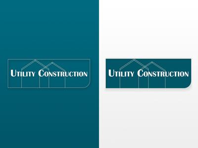 Utility Construction Logo icon web ux ui illustrator illustration design branding