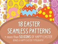 Easter patterns and icons