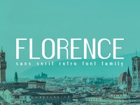 Florence Font Family Preview 1