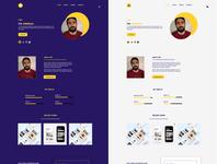 Portfolio design portfolio typography ui design