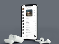Music Streaming App – Friends Mix