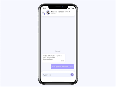 Medical chat yalantis animation uiuxdesign uiux chatting chat doctors telemonitoring telemedicine telehealth ehealth healthcare digitalization mobilehealth medicalrecords