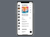 Music Streaming App – Music Player