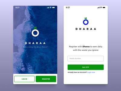 DHARAA mobile app design app android mobile app ux ui