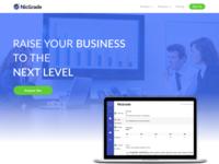 NicGrade Homepage Design