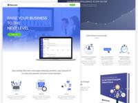 NicGrade Full Homepage Design