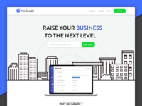 NicGrade Homepage Design Style 02