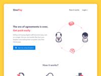 OnePay Homepage Design