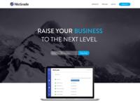 NicGrade Homepage Design Style 03