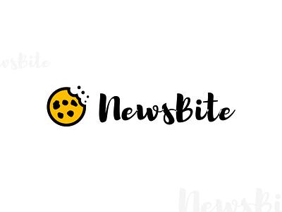 NewsBite Logo brand news branding logo