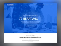 Engineer Office SAUTER Web Design