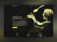 Cornelia von Kerssenbrock Conductress Web Design