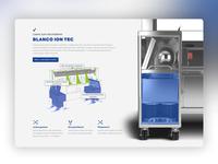 Blanco Webdesign Landingpage Piece