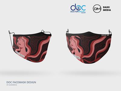 DOC Mask Design (Black, Pink)