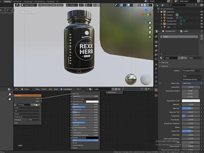 Bottle Design For Supplement
