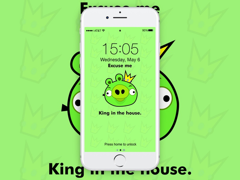 King In The House Wallpaper