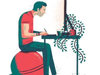 Living the Illustration life design artdirection art editorial illustration