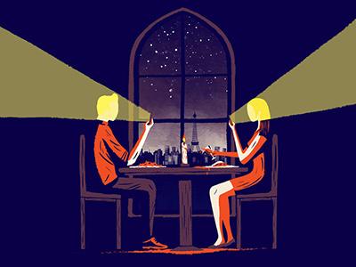 Phone Addiction design artdirection art editorial illustration