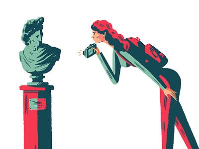 Museum Trip design artdirection illustration editorial art