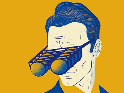 Four Eyes design artdirection illustration editorial art