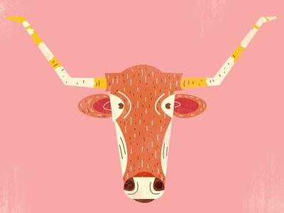Longhorn animal longhorn illustration
