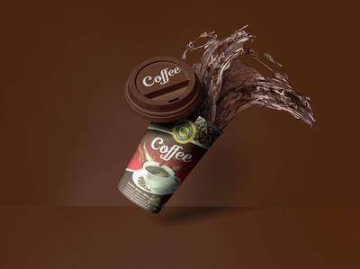 Realistic Paper Cup mockup Mockuphut Exclusive photoshop free psd mockup free psd freebie coffee cup psd mockup design branding