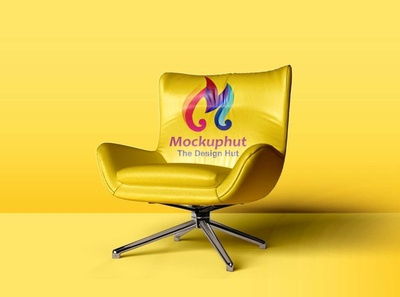 Free Realistic Chair Mockup Mockuphut Exclusive chair design chair mockup free psd photoshop free psd mockup branding psd mockup design