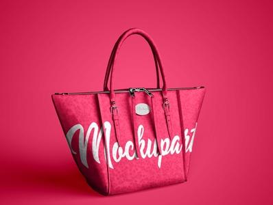 Free Hand Bag Mockup PSD Mockuphut Exclusive hand bag design photoshop free psd mockup branding psd mockup freebie