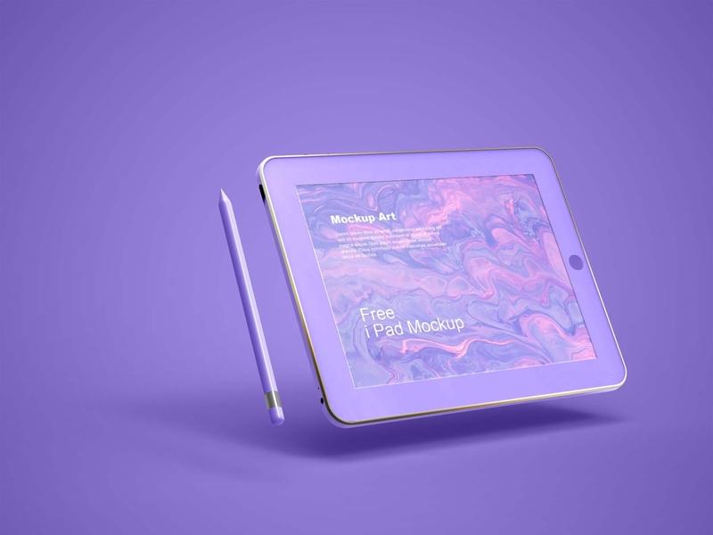 Free Apple iPad Mockup PSD Mockuphut Exclusive apple ipad photoshop free psd mockup freebie psd mockup