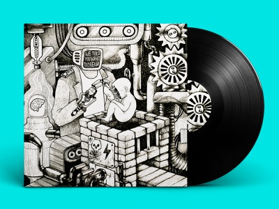 Vinil cover print print design иллюстрация графика дизайн обложки blackandwhite graphicdesign music cover ink illustraion cover cover design music album graphicart graphic
