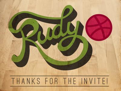 Thanks Rudy!