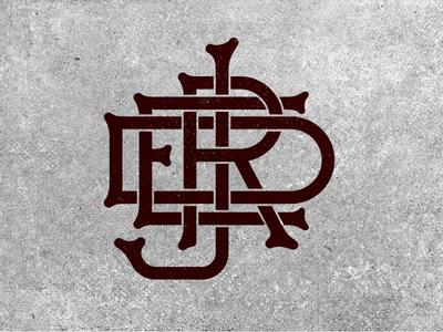 Joshuared Monogram