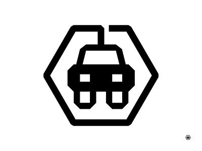Plug-in Electric Vehicle sustainability vehicle car plug-in plug electric ev logo illustration design geometry monoline vector