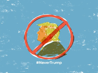 #NeverTrump usa psd 2016 kylebrush election realism overlay never trump