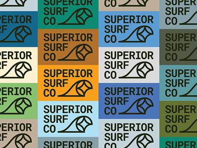 SSC 01 star north wave identity branding surf superior
