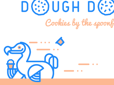 Dough Dough X Icicle Tricycle dodo brand food truck icicle bike edible cookie dough dough cookie