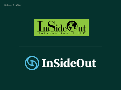 ISO – Before & After update monogram identity brand outdoors garden furniture out inside