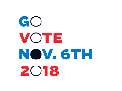 VOTE! Campaign campaign poster vote vectores typography texture midterms election concept brush