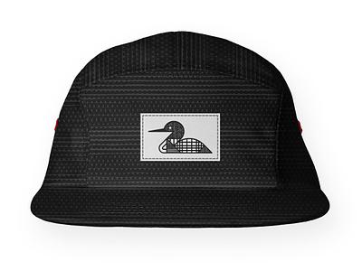 Loon 5–Panel Hat pattern product 5panel hat texture monoline loon