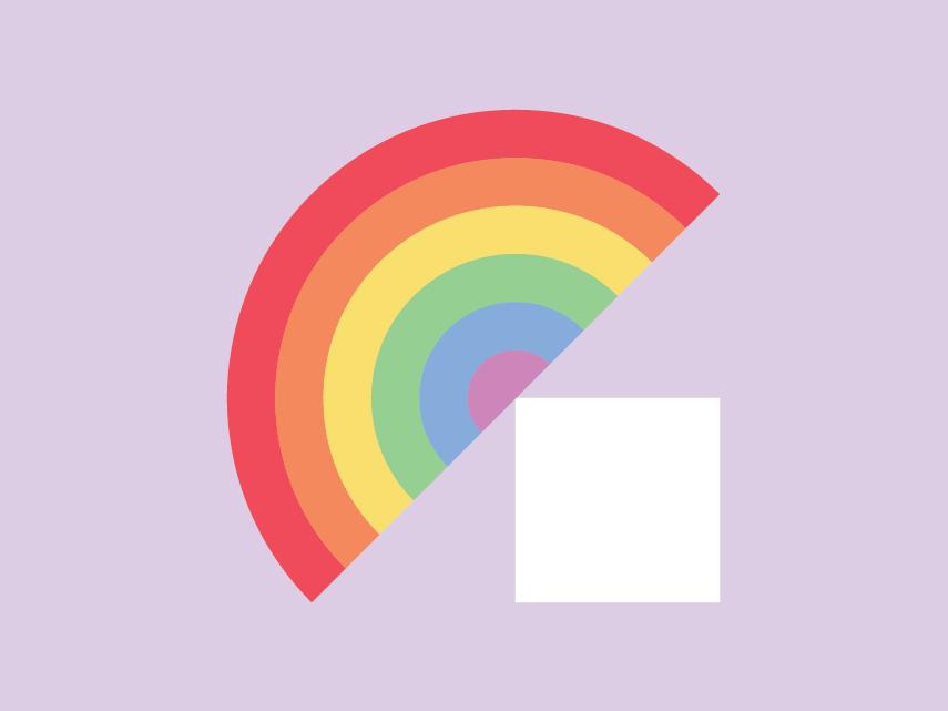 Pride Month! rainbow brand logo equality celebrate june pride