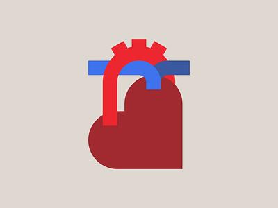 Heart Bone icon valentine day anatomical heart love symbol real geometry heart