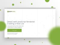 DeepCrawl JS Rendering Website
