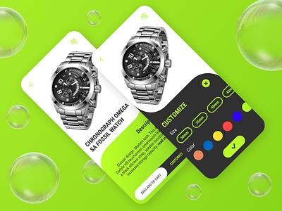 Day #033 : Customize Product UI uxdesign uidesign designing branding logo icon graphic design design ux ui 100daysofui
