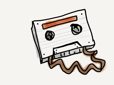 Sketch Tape sketch rough gritty music retro
