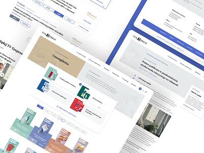 Publishing house e-commerce user interface ui design e-commerce brand identity branding product design user experience ui ux web design company webdesign web design