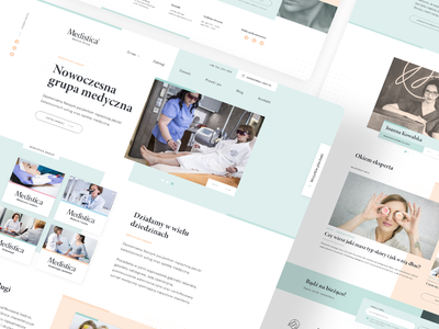 Website for a company from the beauty industry ui design ui user experience user interface web design
