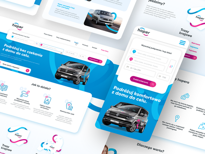 New visual identity for a transport company process redesign illustration branding product design webdesign ux web design user interface user experience ui design